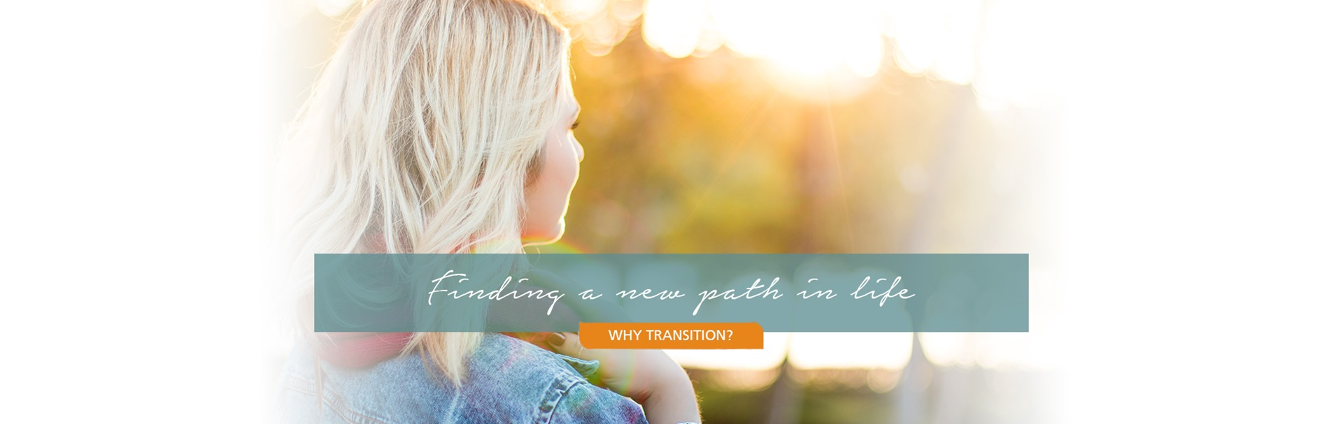 We'll help your daughter through a transition.