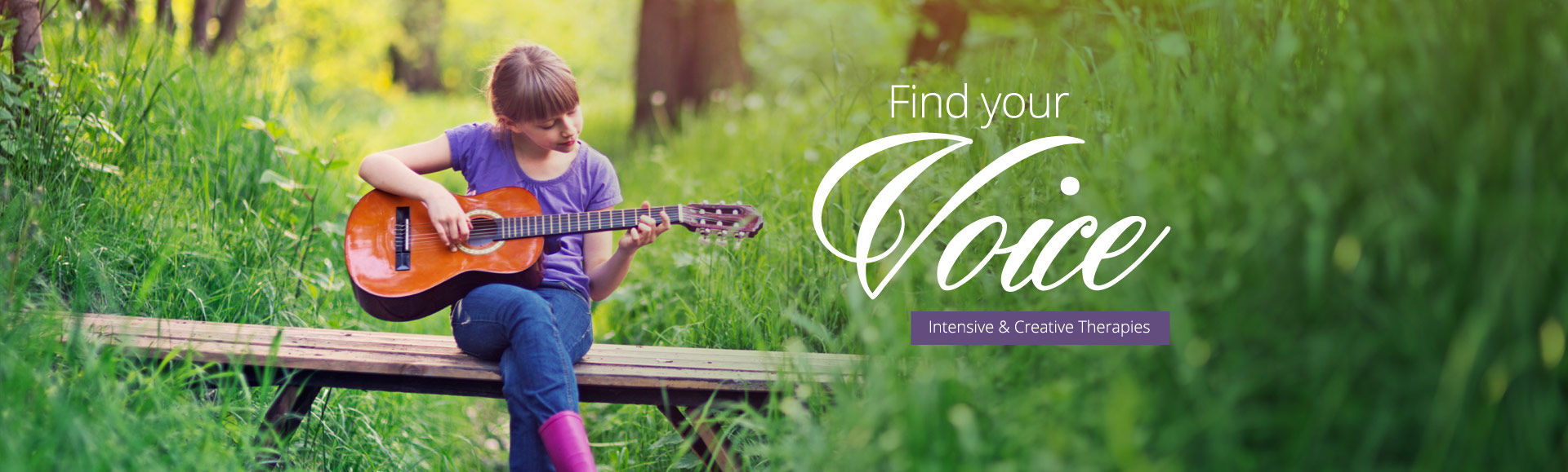 Find your voice with music therapy.