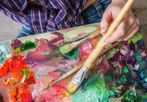 Fine arts-based treatment is helpful for behavioral issues.